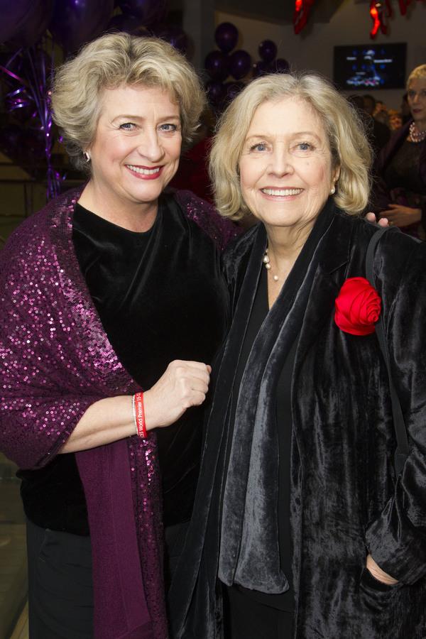 Caroline Quentin and Anne Reid