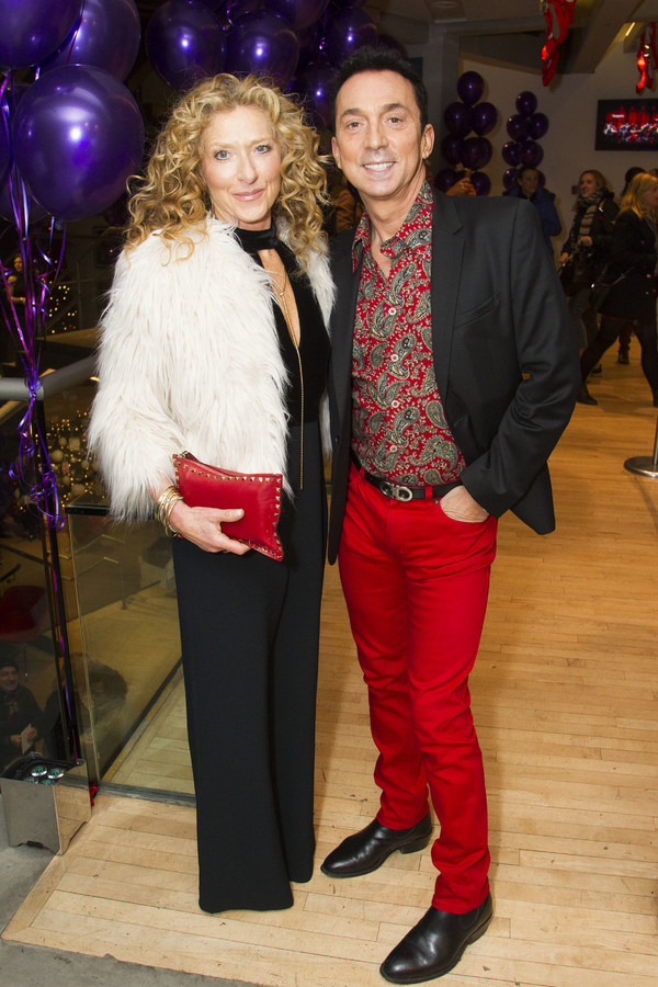 Kelly Hoppen and Bruno Tonioli