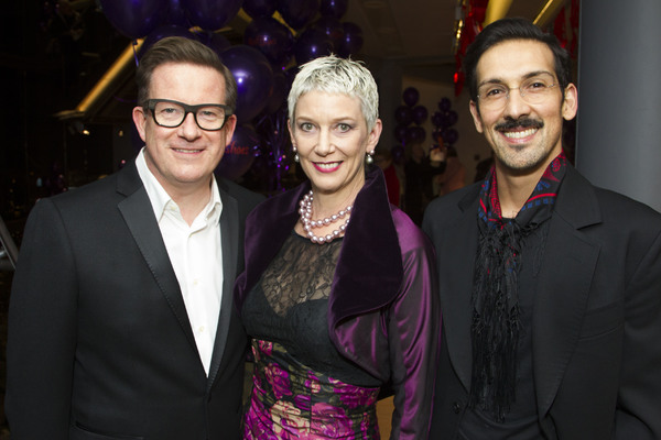 Matthew Bourne, Patricia Kelly and Arthur Pita