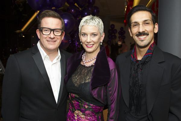 Matthew Bourne, Patricia Kelly and Arthur Pita