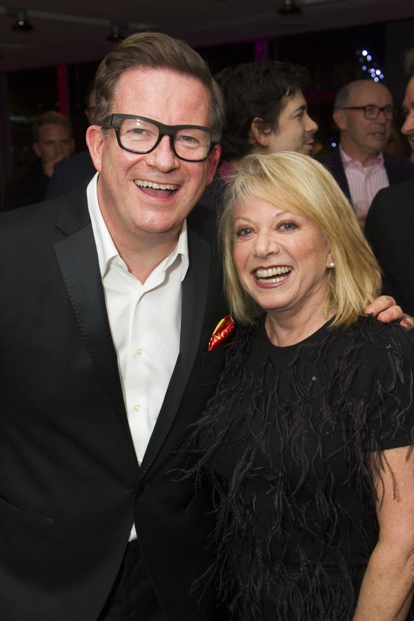 Matthew Bourne and Elaine Paige