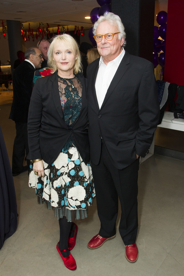 Miranda Richardson and Richard Eyre