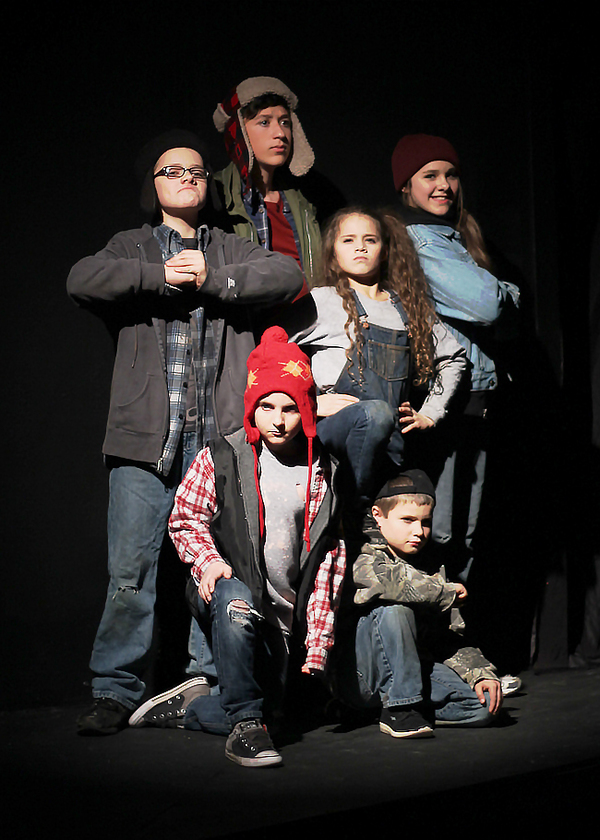 photo flash first look at the best christmas pageant ever ending this weekend at octa - Best Christmas Pageant Ever Play