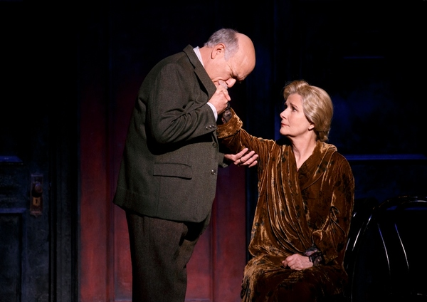 Scott Robertson as Herr Schultz and Mary Gordon Murray as Fraulein Schneider in the 2 Photo