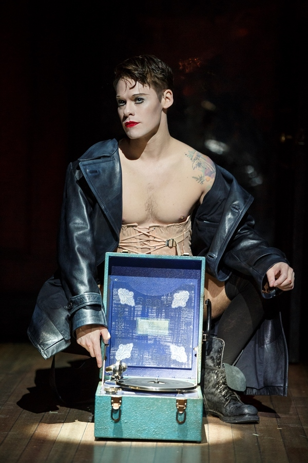 Randy Harrison as the Emcee in the National Tour of Roundabout Theatre Company's CABARET