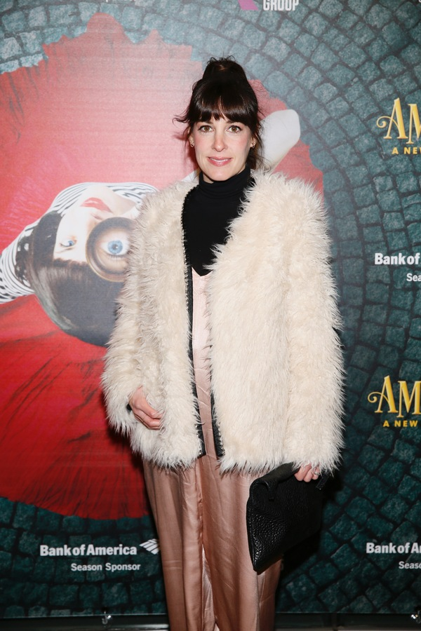 """Actor Jeanne Syquia arrives for the opening night performance of """"Amélie, A New Musical"""" at Center Theatre Group/Ahmanson Theatre on Friday, December 16, 2016, in Los Angeles, California. (Photo by Ryan Miller/Capture Imaging)"""