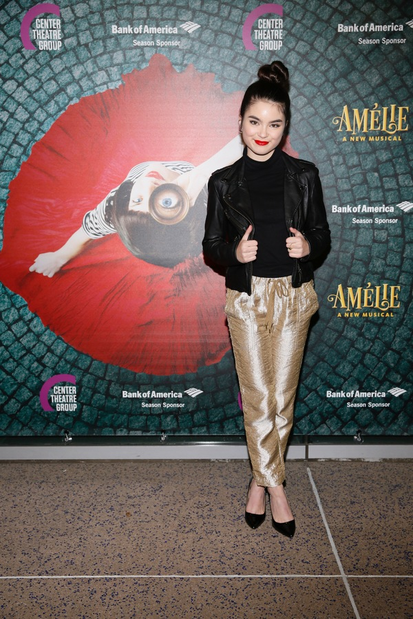 "Actor Landry Bender arrives for the opening night performance of ""Amélie, A New Musical"" at Center Theatre Group/Ahmanson Theatre on Friday, December 16, 2016, in Los Angeles, California. (Photo by Ryan Miller/Capture Imaging)"