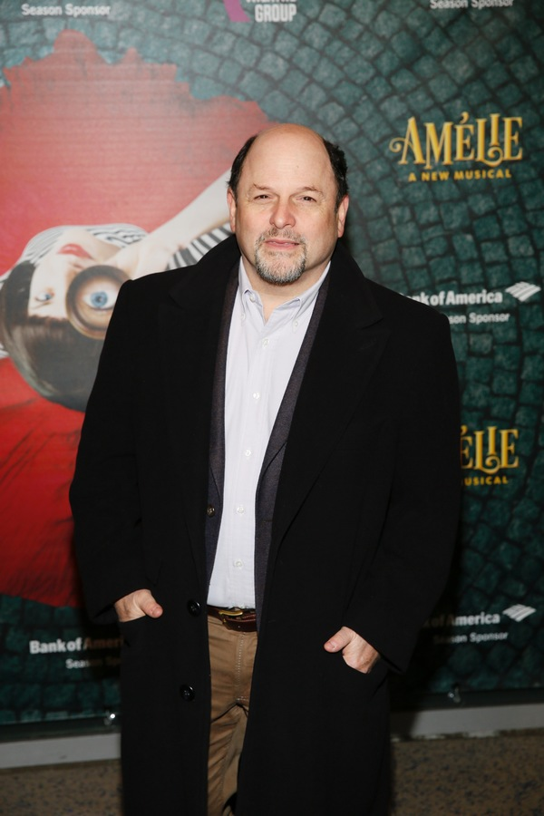"Actor Jason Alexander arrives for the opening night performance of ""Amélie, A New Musical"" at Center Theatre Group/Ahmanson Theatre on Friday, December 16, 2016, in Los Angeles, California. (Photo by Ryan Miller/Capture Imaging)"