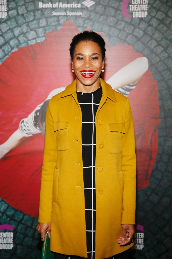 "Actor Kelly McCreary arrives for the opening night performance of ""Amélie, A New Musical"" at Center Theatre Group/Ahmanson Theatre on Friday, December 16, 2016, in Los Angeles, California. (Photo by Ryan Miller/Capture Imaging)"