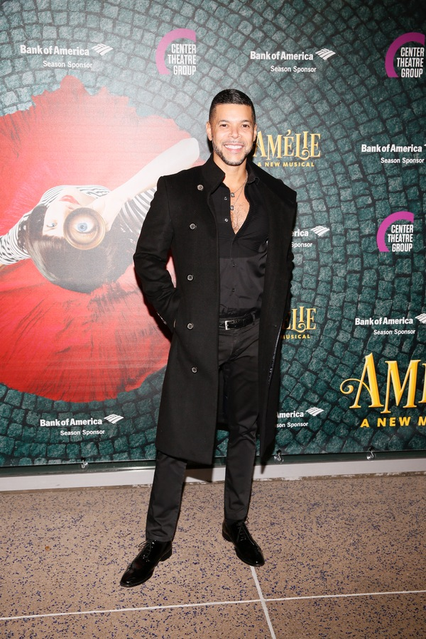 "Actor Wilson Cruz arrives for the opening night performance of ""Amélie, A New Musical"" at Center Theatre Group/Ahmanson Theatre on Friday, December 16, 2016, in Los Angeles, California. (Photo by Ryan Miller/Capture Imaging)"