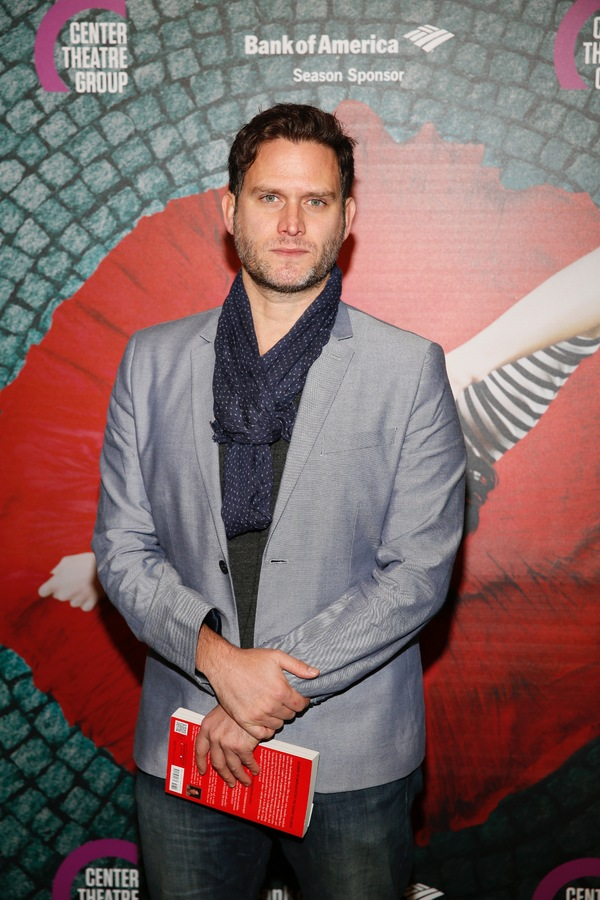 """Actor Steven Pasquale arrives for the opening night performance of """"Amélie, A New Musical"""" at Center Theatre Group/Ahmanson Theatre on Friday, December 16, 2016, in Los Angeles, California. (Photo by Ryan Miller/Capture Imaging)"""