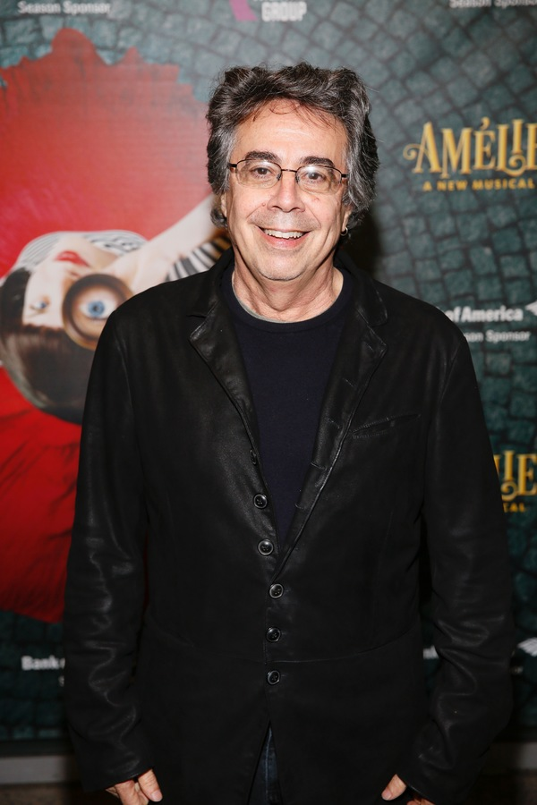 "Berkeley Repertory Theatre Artistic Director Tony Taccone arrives for the opening night performance of ""Amélie, A New Musical"" at Center Theatre Group/Ahmanson Theatre on Friday, December 16, 2016, in Los Angeles, California. (Photo by Ryan Miller/Captur"