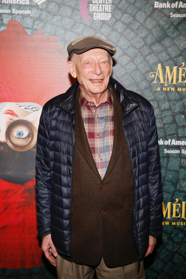 "Actor Alan Mandell arrives for the opening night performance of ""Amélie, A New Mus Photo"