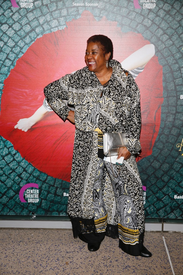 "Actress Loretta Devine arrives for the opening night performance of ""Amélie, A New Photo"