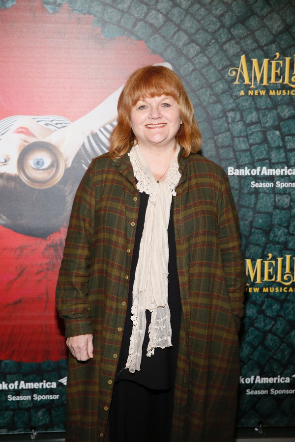 "Actor Lesley Nicol arrives for the opening night performance of ""Amélie, A New Musical"" at Center Theatre Group/Ahmanson Theatre on Friday, December 16, 2016, in Los Angeles, California. (Photo by Ryan Miller/Capture Imaging)"