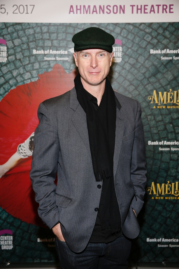 """Actor Hugo Armstrong arrives for the opening night performance of """"Amélie, A New Musical"""" at Center Theatre Group/Ahmanson Theatre on Friday, December 16, 2016, in Los Angeles, California. (Photo by Ryan Miller/Capture Imaging)"""
