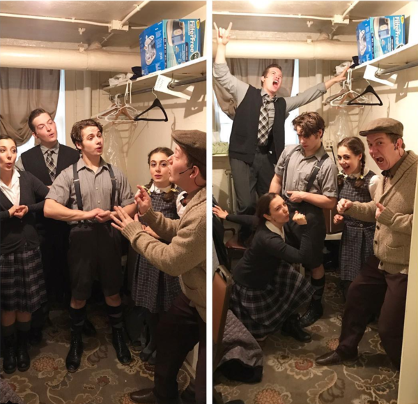 The Lion, The Witch, and The Wardrobe (Regional): @paigebrinskele The Lion, The Witch, and The Wardrobe does The Von Trapp Family singers and Spring Awakening #SIP #theatreworksusa #touradventures @ariellebfish @pdinns @shewsical @dtcouter