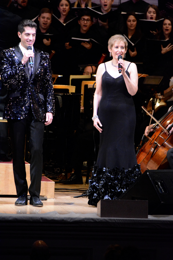 Anthony Nunziata and Liz Callaway