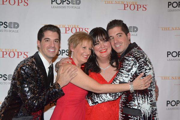 Anthony Nunziata, Liz Callaway, Ann Hampton Callaway and Will Nunziata