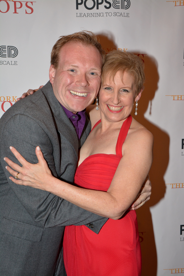 Richard Rockage and Liz Callaway