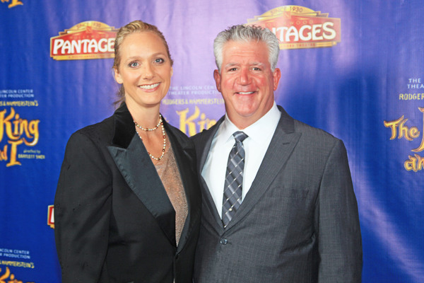 Julie & Gregory Jbara