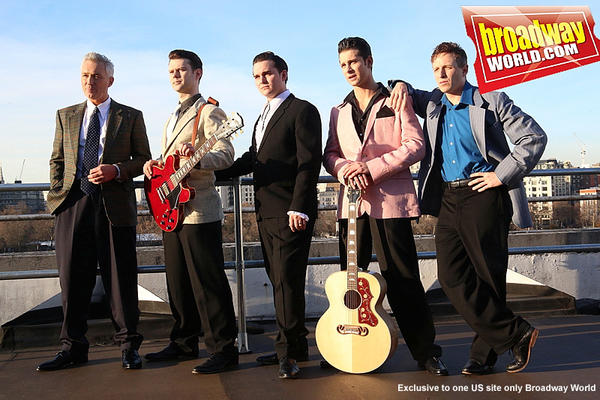 Martin Kemp, Matt Wycliffe, Robbie Durham, Ross William Wild, Martin Kaye  Photo