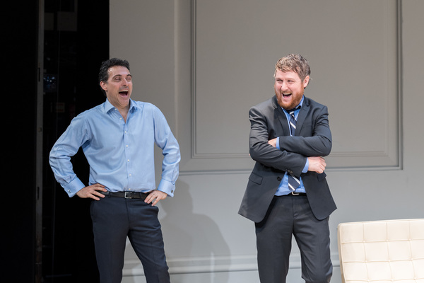 Rufus Sewell and Tim Key