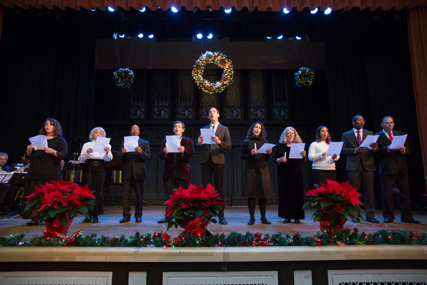 Photo Flash: Cristina Fontanelli Performs 13th Annual 'Christmas in Italy' at The Landmark Theater
