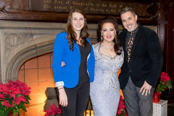 Cristina Fontanelii with Leah Lane and Robert Levinstein Photo