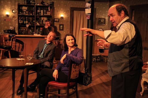 Bradley Grant Smith, Dan Waller, Sarah Wellington and Brad Armacost  Photo