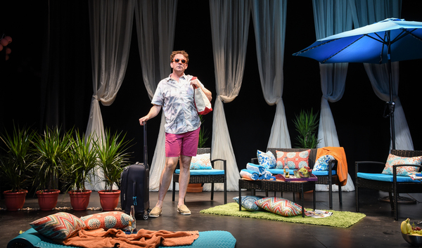 Photo Flash: Drew Droege Returns Off-Broadway in BRIGHT COLORS AND BOLD PATTERNS Tonight