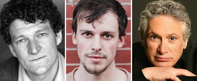 Gabriel Ebert and Christopher Sears Join Harvey Fierstein in GENTLY DOWN THE STREAM at The Public Theater