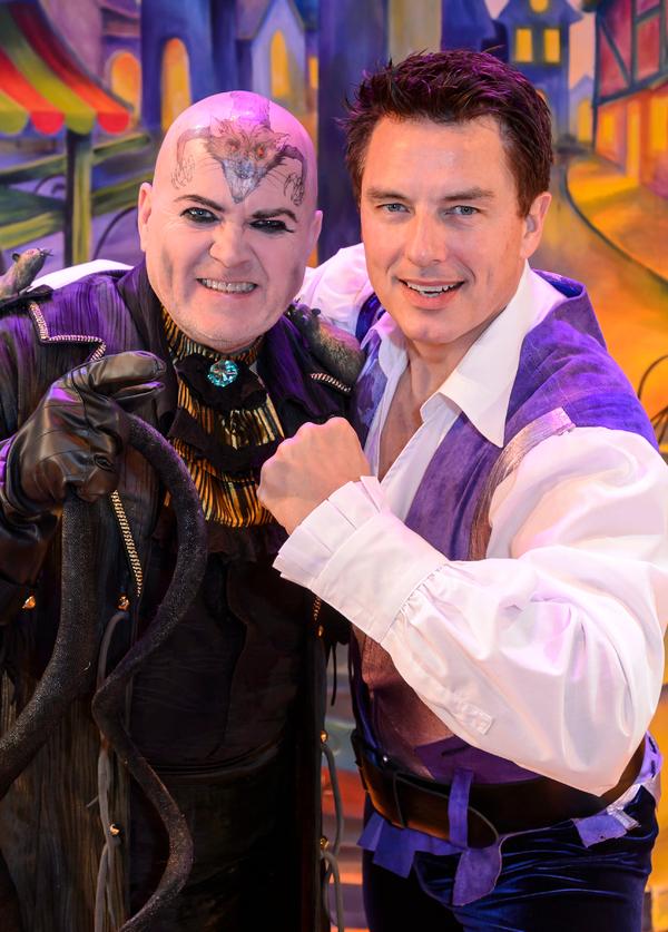 John Barrowman and Steve McFadden