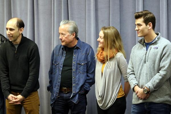 Andrew Benator, Radney Foster, Sylvie Davidson, and Zach Seabaugh
