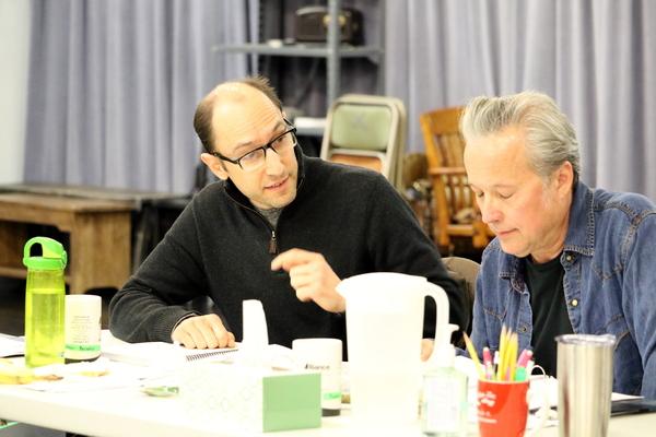 Andrew Benator and Radney Foster
