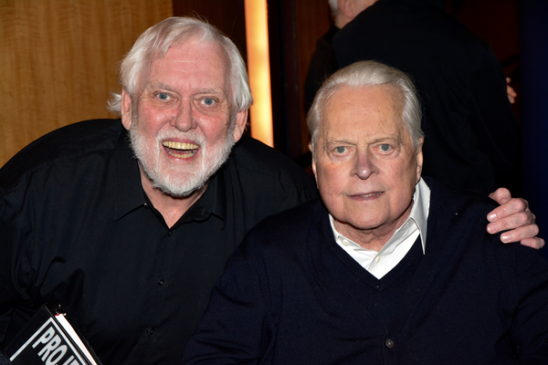 Jim Brochu and Robert Osborne Photo