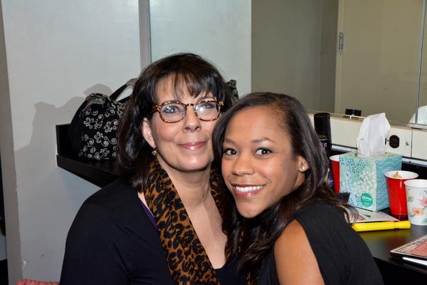 Christine Pedi and Nikki M. James