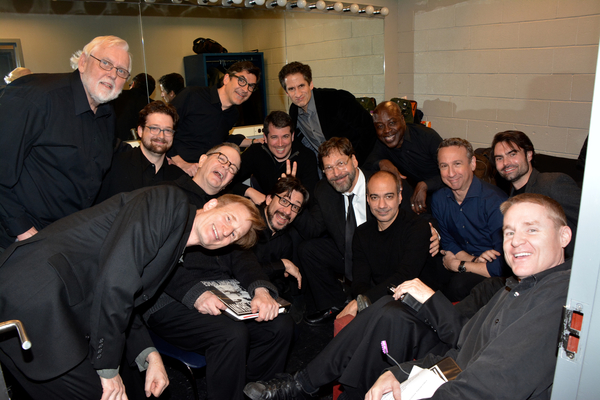David Staller with Ethan Litwin, Seth Rudetsky, L. Steven Taylor, Nick Corley, William Demeritt, Jay Russell, Everett Quinton, Jim Brochu, Jonathan Hadley, Evan Zes, Aaron Lee Battle, Ward Saxton, Roberto Cambeiro, Christin Ryan, Daniel Schwait and Peter