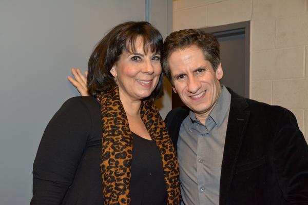 Christine Pedi and Seth Rudetsky