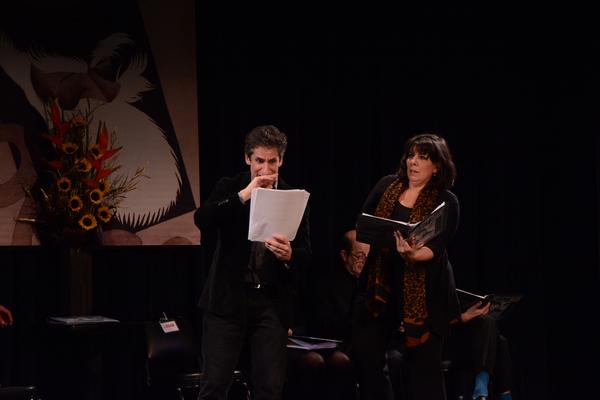Seth Rudetsky and Christine Pedi