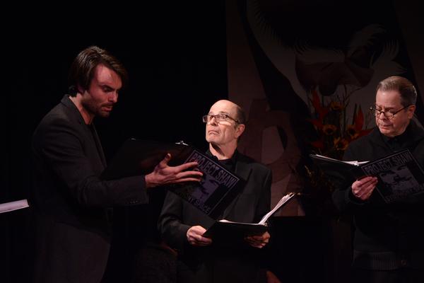 Christian Ryan, Everett Quinton and Peter Bartlett