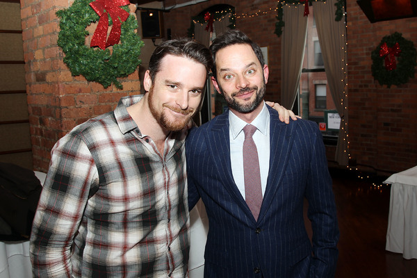 "-  New York, NY - 12/19/16 - A Special Holiday Screening of ""LOVING""  -Pictured: Bill English, Nick Kroll -Photo by: Marion Curtis/Starpix -Location: Tribeca Screening Room"