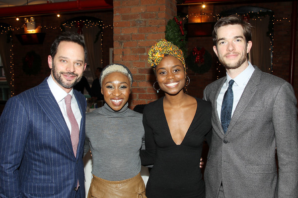 "-  New York, NY - 12/19/16 - A Special Holiday Screening of ""LOVING""  -Pictured: Nick Kroll, Cynthia Erivo, Denee Benton,  John Mulaney -Photo by: Marion Curtis/Starpix -Location: Tribeca Screening Room"