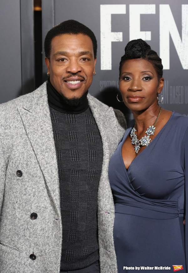 Russell Hornsby and Denise Walker