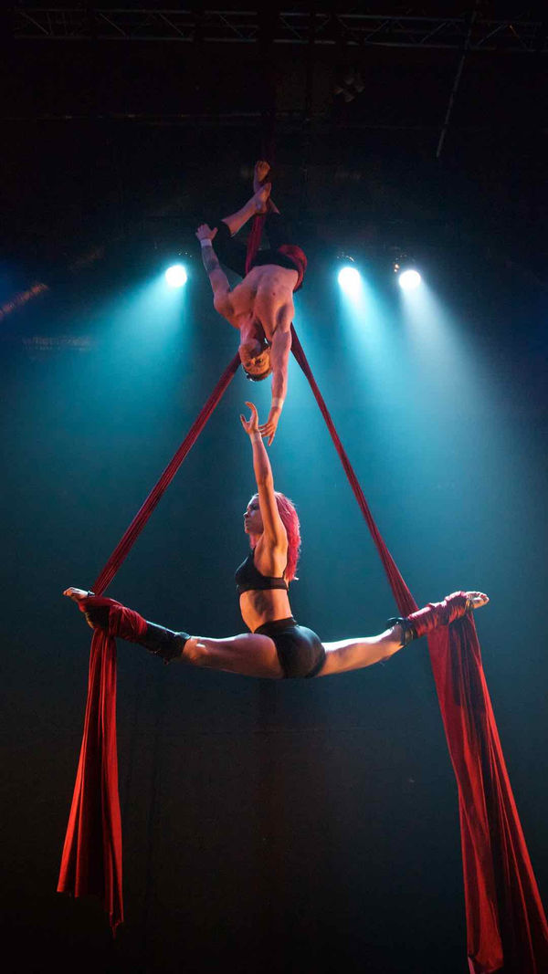 Photo Flash: Sneak Peek at Chivaree Circus's Immersive Show BECOMING SHADES, Coming to The Vaults