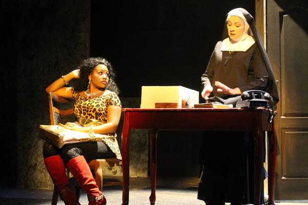 Lindsay Roberts and Paulette Oliva