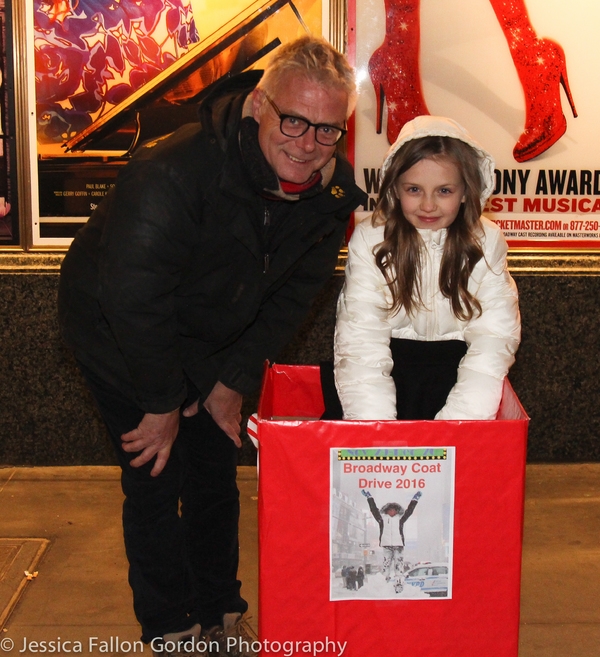 Stephen Daldry and Willow McCarthy