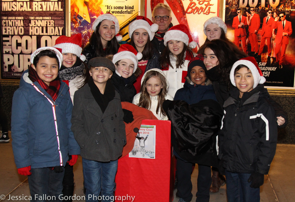 Photos: Broadway Shines Spreads Warmth This Holiday Season with Annual Coat Drive