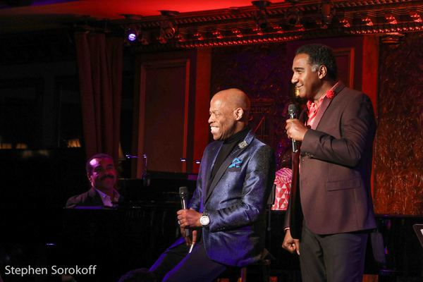 Adrian Bailey & Norm Lewis