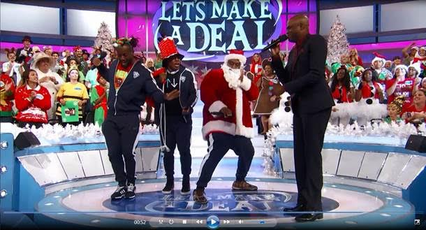 LET'S MAKE A DEAL's Wayne Brady Rings in the Holiday with WWE Superstars Today